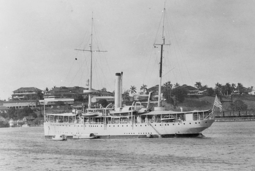 By Unknown author - National Archives Photograph 80-G-1034878 Appears in US Naval Historical Center biography of USS Ashevillehttps://www.history.navy.mil/our-collections/photography/numerical-list-of-images/nhhc-series/nh-series/80-G-1034000/80-G-1034878